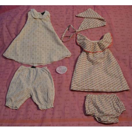 2 Ensembles Robes et Culottes