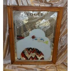 Miroir de Bar Vogue