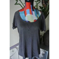 """T-shirt """"Ici et Maintenant"""" (T38/40)"""