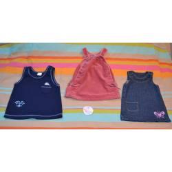 Lot de 3 Robes