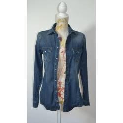 "Chemise en Jean "" Zara"" (T34)"