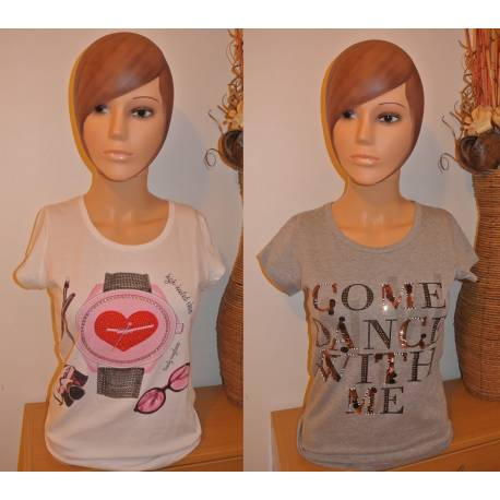 Lot de 2 T-shirts Fantaisies